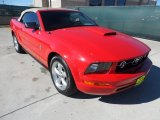 2007 Torch Red Ford Mustang V6 Premium Convertible #56275276
