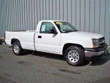 2005 Summit White Chevrolet Silverado 1500 Regular Cab #5601808