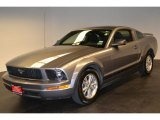 2006 Tungsten Grey Metallic Ford Mustang V6 Deluxe Coupe #56275626