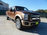2012 Golden Bronze Metallic Ford F250 Super Duty King Ranch Crew Cab 4x4 #56275252