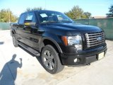 2011 Ebony Black Ford F150 FX4 SuperCrew 4x4 #56275250