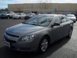 2008 Golden Pewter Metallic Chevrolet Malibu LS Sedan #56275591