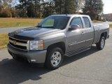 2007 Graystone Metallic Chevrolet Silverado 1500 LTZ Extended Cab #56275551