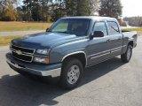 2006 Blue Granite Metallic Chevrolet Silverado 1500 LT Crew Cab 4x4 #56275549