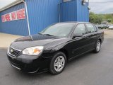 2007 Black Chevrolet Malibu LS Sedan #56275927