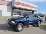 2004 Patriot Blue Pearl Dodge Dakota Sport Club Cab 4x4 #56275143