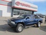 2004 Patriot Blue Pearl Dodge Dakota Sport Club Cab 4x4 #56275143
