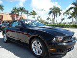 2011 Ebony Black Ford Mustang V6 Premium Convertible #56275113