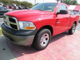 2009 Flame Red Dodge Ram 1500 ST Regular Cab #56275839