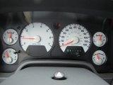 2008 Dodge Ram 1500 SXT Quad Cab Gauges