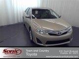 2012 Sandy Beach Metallic Toyota Camry LE #56275455