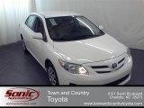 2011 Super White Toyota Corolla LE #56275446