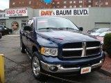 Patriot Blue Pearl Dodge Ram 1500 in 2003