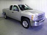 2012 Silver Ice Metallic Chevrolet Silverado 1500 LT Extended Cab #56275430