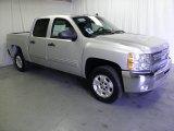 2012 Silver Ice Metallic Chevrolet Silverado 1500 LT Crew Cab #56275429