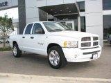 2005 Bright White Dodge Ram 1500 Big Horn Edition Quad Cab #5610857