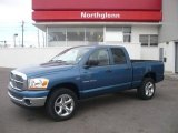 2006 Atlantic Blue Pearl Dodge Ram 1500 SLT Quad Cab 4x4 #5599635