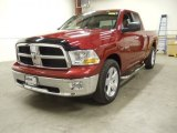 2009 Inferno Red Crystal Pearl Dodge Ram 1500 SLT Quad Cab #56275667