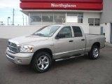 2008 Mineral Gray Metallic Dodge Ram 1500 Laramie Quad Cab 4x4 #5599640