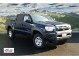 2012 Nautical Blue Metallic Toyota Tacoma V6 Double Cab 4x4 #56274927