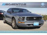 2006 Windveil Blue Metallic Ford Mustang V6 Deluxe Coupe #56349131