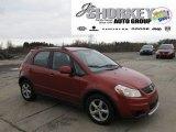 2007 Sunlight Copper Pearl Suzuki SX4 Convenience AWD #56348824