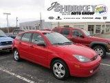 2003 Infra-Red Ford Focus ZX5 Hatchback #56348818