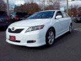 2008 Super White Toyota Camry LE V6 #56349054