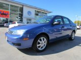 2005 French Blue Metallic Ford Focus ZX4 S Sedan #56348775