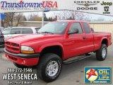 2003 Dodge Dakota Flame Red