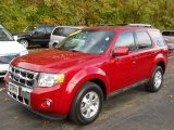 2009 Sangria Red Metallic Ford Escape Limited V6 4WD #56349038