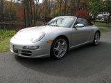 2008 Arctic Silver Metallic Porsche 911 Carrera S Cabriolet #56348484