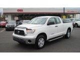 2009 Super White Toyota Tundra Double Cab #56348736