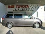 2012 Predawn Gray Mica Toyota Sienna XLE #56348481