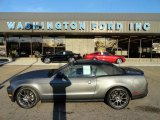 2011 Sterling Gray Metallic Ford Mustang V6 Premium Convertible #56348709