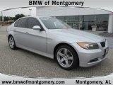 2008 Titanium Silver Metallic BMW 3 Series 335xi Sedan #56348693