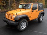 2012 Dozer Yellow Jeep Wrangler Sport S 4x4 #56348966