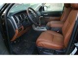 2012 Toyota Tundra Platinum CrewMax 4x4 Red Rock Interior
