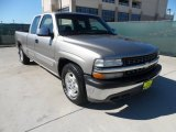 2000 Light Pewter Metallic Chevrolet Silverado 1500 LS Extended Cab #56348660