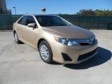 2012 Sandy Beach Metallic Toyota Camry LE #56348653