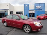 2005 Sport Red Metallic Chevrolet Malibu LT V6 Sedan #56348621