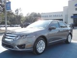 2010 Sterling Grey Metallic Ford Fusion Hybrid #56397933