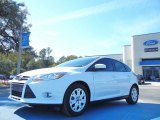 2012 Oxford White Ford Focus SE 5-Door #56397931
