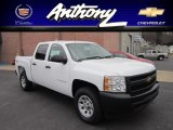 2011 Summit White Chevrolet Silverado 1500 Crew Cab 4x4 #56398500