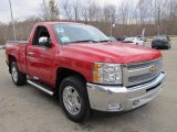 2012 Chevrolet Silverado 1500 LT Regular Cab 4x4 Data, Info and Specs