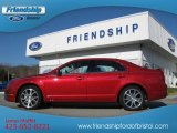 2010 Red Candy Metallic Ford Fusion SE V6 #56397875