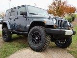 2008 Jeep Wrangler Unlimited Steel Blue Metallic