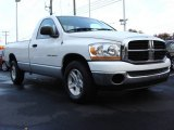 2006 Bright White Dodge Ram 1500 SLT Regular Cab #56398455