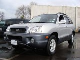 2004 Pewter Hyundai Santa Fe GLS 4WD #5607955