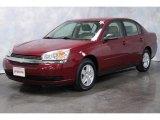 2005 Sport Red Metallic Chevrolet Malibu LS V6 Sedan #56398151